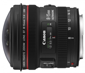 Canon EF 8-15 mm F4.0 L USM Fish-Eye (4427B005)